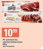 PC Pork Back Ribs - 680 g