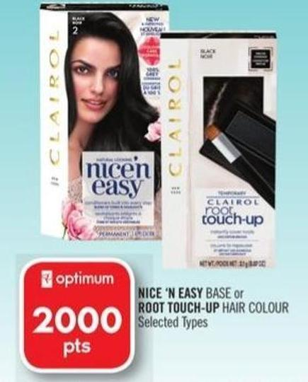 Nice 'N Easy Base or Root Touch-up Hair Colour