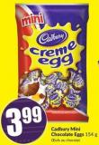 Cadbury Mini Chocolate Eggs 154 g