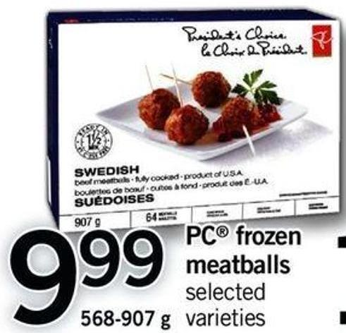 PC Frozen Meatballs - 568-907 G