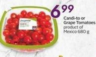 Compliments Candi-to or Grape Tomatoes