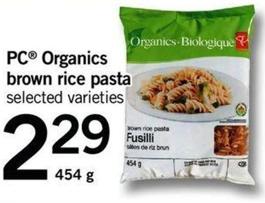 PC Organics Brown Rice Pasta - 454 G
