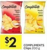 Compliments Chips 200 g