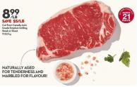 Cut From Canada Aaa Grade Striploin Grilling Steak or Roast