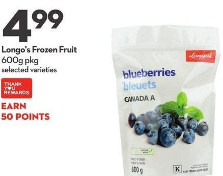 Longo's Frozen Fruit