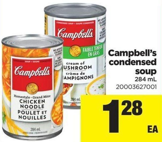 Campbell's Condensed Soup 284 ml