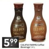 Califia Farms Coffee Beverage