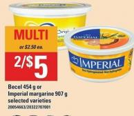 Becel - 454 G Or Imperial Margarine - 907 G
