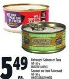 Raincoast Salmon Or Tuna 150 - 160 G
