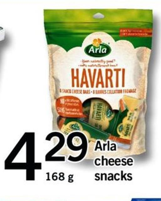 Arla Cheese Snacks
