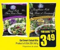 Eat Smart Salad Kits Product of USA 255-340 g