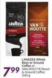 Lavazza Whole Bean or Ground Coffee