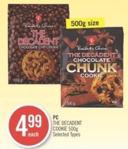 PC  The Decadent Cookie 500g