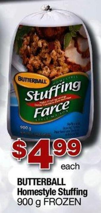 Butterball Homestyle Stuffing - 900 g