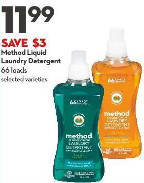 Method Liquid  Laundry Detergent 66 Loads