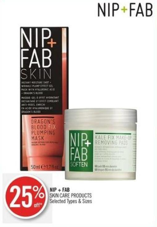 Nip + Fab Skin Care Products