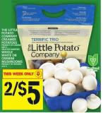 The Little Potato Company Creamer Potatoes Or Whole White Or Cremini Mushrooms