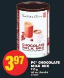 PC Chocolate Milk Mix - 750 g