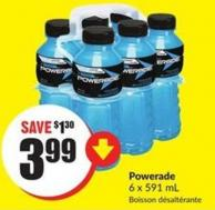 Powerade 6 X 591 Ml
