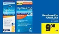 Hydrasense Eye Or Nasal Care - 10-100 mL