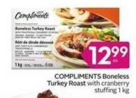 Compliments Boneless Turkey Roast