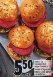 Fresh 2 Go Signature Beet Burger Sandwich