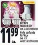 Air Wick Scented Oils 3 Pk