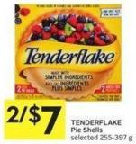 Tenderflake Pie Shells Selected 255-397 g