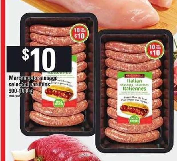 Marcangelo Sausage - 900-1000 g