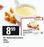 PC Fondue Swiss Cheese - 400 G