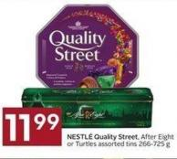 Nestlé Quality Street - After Eight or Turtles Assorted Tins 266-725 g