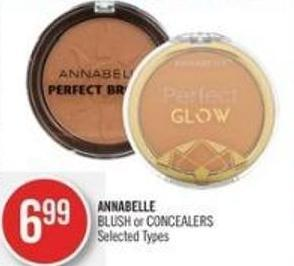 Annabelle Blush or Concealers