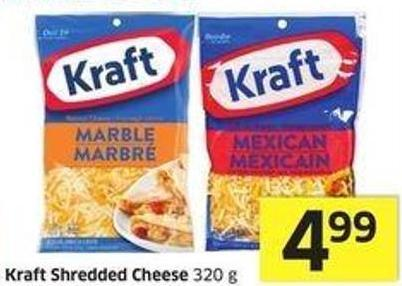 Kraft  Shredded Cheese 320 g