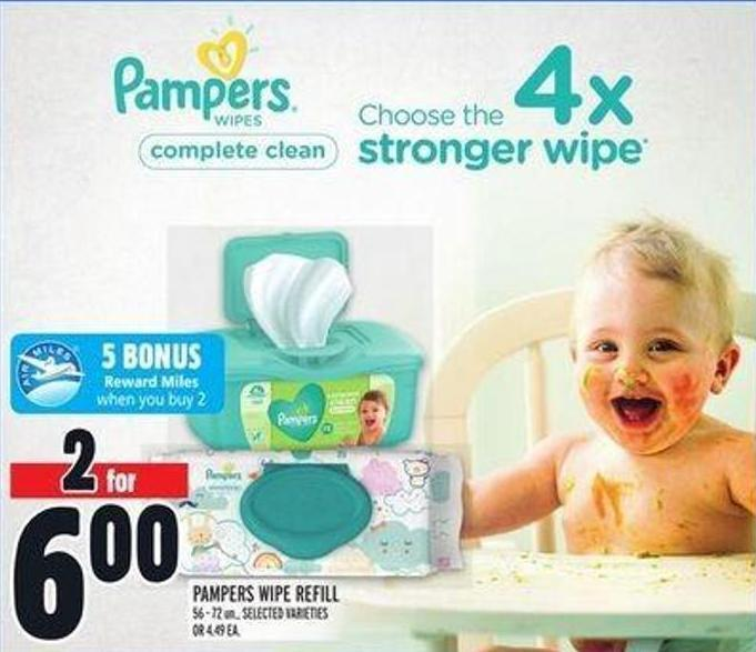 Pampers Wipe Refill