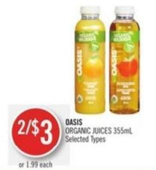 Oasis Organic Juices