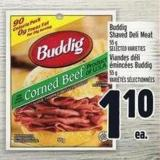 Buddig Shaved Deli Meat
