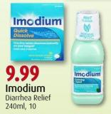 Imodium Diarrhea Relief 240ml - 10
