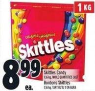 Skittles Candy 1 Kg