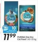 Purina One Dry Cat Food - 10 Air Miles Bonus Miles