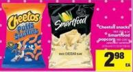 Cheetos Snacks - 180-310 g Or Smartfood Popcorn - 150-220 g