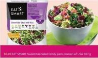 Eat Smart Sweet Kale Salad