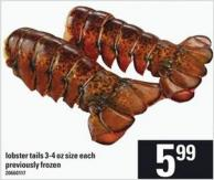 Lobster Tails - 3-4 Oz