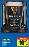 Guinness Draught Stout - 4 X 440 mL