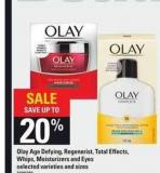 Olay Age Defying - Regenerist - Total Effects - Whips - Moisturizers And Eyes