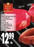 Red Grill Boneless Rib Steak Value Pack