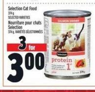 Selection Cat Food