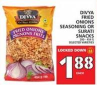 Divya Fried Onions Seasoning Or Surati Snacks