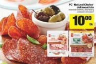 PC Natural Choice Deli Meat Trio - 250/400 g
