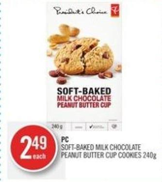 PC Soft-baked Milk Chocolate Peanut Butter Cup Cookies 240g