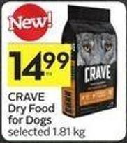 Crave Dry Food For Dogs